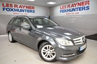 USED 2012 62 MERCEDES-BENZ C CLASS 2.1 C220 CDI BLUEEFFICIENCY EXECUTIVE SE 5d 168 BHP Cruise control, Bluetooth, Great MPG, Autolights, Full Leather