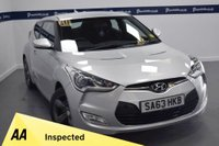 USED 2013 63 HYUNDAI VELOSTER 1.6 GDI 4d 140 BHP (ONLY 38000 MILES WITH FULL HISTORY)