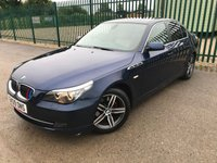 2009 BMW 5 SERIES 3.0 525D SE BUSINESS EDITION 4d AUTO 195 BHP ALLOYS PRIVACY SATNAV CRUISE IDRIVE LEATHER A/C MOT 01/20 £5490.00