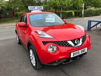 USED 2015 15 NISSAN JUKE 1.2 ACENTA DIG-T 5d 115 BHP Buy with confidence from a garage that has been established  for 26 years.