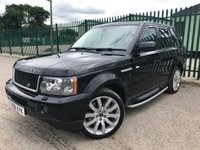 2009 LAND ROVER RANGE ROVER SPORT 3.6 TDV8 SPORT HSE 5d AUTO 269 BHP ALLOYS NAV CRUISE PRIVACY LEATHER SH MOT 12/19 £6490.00