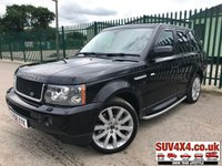 USED 2009 58 LAND ROVER RANGE ROVER SPORT 3.6 TDV8 SPORT HSE 5d AUTO 269 BHP ALLOYS NAV CRUISE PRIVACY LEATHER SH MOT 12/19 4WD. SATELLITE NAVIGATION. STUNNING BLACK WITH FULL BLACK LEATHER TRIM. ELECTRIC MEMORY HEATED SEATS. CRUISE CONTROL. SIDE STEPS. 20 INCH ALLOYS. COLOUR CODED TRIMS. PRIVACY GLASS. PARKING SENSORS. BLUETOOTH PREP. CLIMATE CONTROL INCLUDING AIR CON. R/CD PLAYER. DAB RADIO. MEDIA CONNECTIVITY. MFSW. MOT 12/19. SERVICE HISTORY. PART EXCHANGE CLEARANCE CENTRE - LS23 7FQ. TEL 01937 849492 OPTION 4