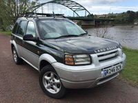 1998 LAND ROVER FREELANDER 2.0 XEDI STATION WAGON 5d 96 BHP £900.00