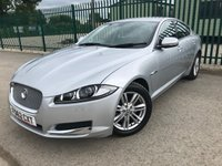 2012 JAGUAR XF 2.2 D LUXURY 4d AUTO 163 BHP ALLOYS SATNAV BLUETOOTH CRUISE LEATHER FSH A/C LOW MILES MOT 09/19 £10390.00