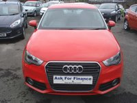 USED 2012 62 AUDI A1 1.2 TFSI SPORT 3d 84 BHP ROAD TAX ONLY £30 A YEAR