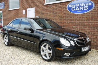 2008 MERCEDES-BENZ E 500 E550 Saloon 5561cc LEFT HAND DRIVE £11490.00