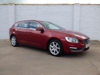 2013 VOLVO V60 2.0 D3 SE 5d AUTO 134 BHP £8750.00