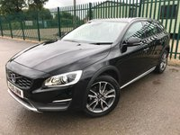 2016 VOLVO V60 2.0 D4 CROSS COUNTRY LUX NAV 5d 188 BHP ALLOYS SATNAV CRUISE LEATHER BLUETOOTH LOW MILES FSH MOT 03/20 £16490.00