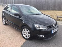 2013 VOLKSWAGEN POLO 1.4 MATCH EDITION 5d 83 BHP £6750.00
