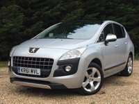 USED 2012 61 PEUGEOT 3008 2.0 HDI EXCLUSIVE 5d 150 BHP