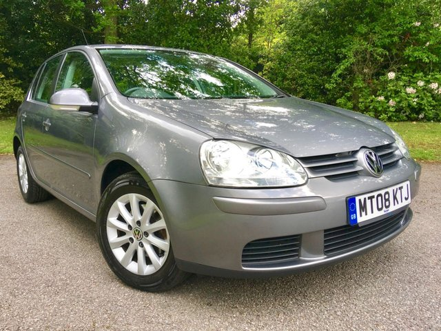 2008 08 VOLKSWAGEN GOLF 1.6 MATCH FSI 5d 114 BHP ''2 OWNERS WITH ONLY 59,475 MILES''