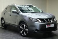 USED 2015 15 NISSAN QASHQAI 1.5 DCI N-TEC PLUS 5d 108 BHP PARKING SENS+NAV+1 KEEPER+CRUISE CON+PAN ROOF+CLIMATE CON