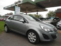 USED 2014 64 VAUXHALL CORSA 1.2 DESIGN AC 3d 83 BHP ONE FORMER KEEPER