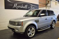 USED 2010 10 LAND ROVER RANGE ROVER SPORT 3.6 TDV8 SPORT HSE 5d AUTO 269 BHP BIG SPEC - 3.6 TDV8 HSE - NAV - LEATHER - LUX ALLOYS - SIDE STEPS - PRIVACY GLASS