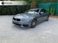 USED 2017 17 BMW 5 SERIES 3.0 530D XDRIVE M SPORT 4d AUTO 261 BHP TOTAL SPECK