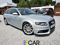 USED 2010 10 AUDI A4 2.0 AVANT TDI S LINE SPECIAL EDITION 5d 141 BHP 1 PREVIOUS OWNER +FULL HISTORY