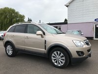 USED 2013 13 VAUXHALL ANTARA 2.2 CDTI EXCLUSIV 5d AUTO 161 BHP IN DAYDREAM BEIGE   NO DEPOSIT ECP/HP FINANCE ARRANGED, APPLY HERE NOW