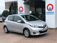 USED 2013 63 TOYOTA YARIS 1.3 VVT-I TR 5d 98 BHP REV CAM | BLUETOOTH | AIR CON