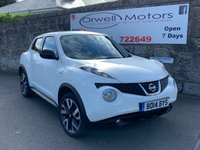 USED 2014 14 NISSAN JUKE 1.5 DCI N-TEC 5d 109 BHP CAR FINANCE AVAILABLE+SATELLITE NAVIGATION+1 OWNER+SERVICE HISTORY