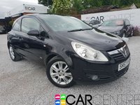 USED 2007 57 VAUXHALL CORSA 1.2 DESIGN 16V 3d 80 BHP 3 PREVIOUS OWNERS