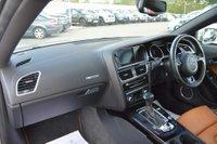 USED 2015 15 AUDI A5 3.0 TDI Black Edition Multitronic 2dr AUDI EXCLUSIVE INTERIOR