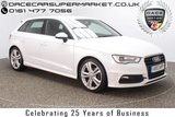 USED 2013 13 AUDI A3 2.0 TDI S LINE 5DR 1 OWNER SAT NAV HALF LEATHER 148 BHP FULL SERVICE HISTORY + £20 12 MONTHS ROAD TAX + HALF LEATHER SEATS + SATELLITE NAVIGATION + BLUETOOTH + MULTI FUNCTION WHEEL + CLIMATE CONTROL + RADIO/CD/USB/SD + XENON HEADLIGHTS + 18 INCH ALLOY WHEELS