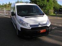 USED 2015 65 CITROEN DISPATCH 2.0 1200 L2H1 ENTERPRISE HDI 126 BHP LWB Van 36000 miles, 1 Owner, Air Con