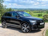 USED 2014 14 VOLKSWAGEN TOUAREG 3.0 V6 R-LINE TDI BLUEMOTION TECHNOLOGY 5d AUTO 202 BHP