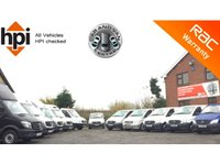 USED 2012 62 MERCEDES-BENZ VITO 2.1 113 CDI LONG LWB LWB, ONE PREVIOUS OWNER, HIGH SPEC, REAR RACKING,