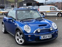 USED 2005 54 MINI CONVERTIBLE 1.6 COOPER S 2d 168 BHP *XENON LIGHTS, PARKING SENSORS, CLIMATE CONTROL*