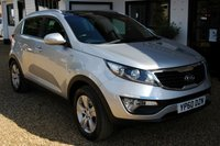 USED 2010 60 KIA SPORTAGE 2.0 KX-2 5d 160 BHP Superb Condition 4WD Petrol