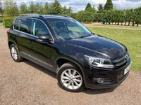 2012 VOLKSWAGEN TIGUAN 2.0 SE TDI BLUEMOTION TECHNOLOGY 4MOTION 5d 138 BHP Full VW History, MOT 04/20 £7849.00