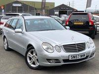 2007 MERCEDES-BENZ E CLASS 3.0 E280 CDI AVANTGARDE 5d AUTO 187 BHP £4995.00