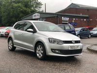 2013 VOLKSWAGEN POLO 1.4 MATCH EDITION 5d 83 BHP £4995.00