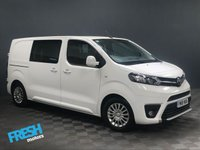 USED 2018 18 TOYOTA PROACE 1.6 L1 COMFORT CREW VAN * 0% Deposit Finance Available