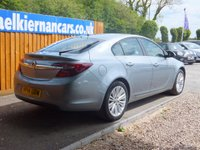 USED 2014 14 VAUXHALL INSIGNIA 2.0 ENERGY CDTI ECOFLEX S/S 5d 118 BHP PARK SENSORS, AIR CON, FSH