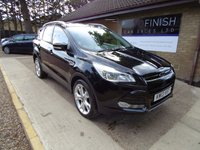 USED 2013 13 FORD KUGA 2.0 TITANIUM TDCI 5d 160 BHP * FULL FORD SERVICE HISTORY * 2 KEYS * DAB RADIO * 2 KEEPERS FROM NEW *