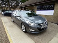 USED 2012 62 HYUNDAI I40 1.7 PREMIUM BLUE DRIVE CRDI 5d 134 BHP * FULL SERVICE HISTORY * 1 PRIVATE KEEPER * £30 ROAD TAX * 2 KEYS * SAT-NAV * PARKING CAMERA *