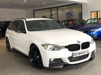 2014 BMW 3 SERIES 2.0 320D M SPORT TOURING 5d AUTO 181 BHP £14490.00