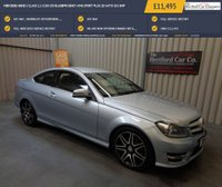 USED 2014 14 MERCEDES-BENZ C CLASS 2.1 C250 CDI BLUEEFFICIENCY AMG SPORT PLUS 2d AUTO 202 BHP