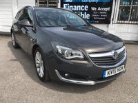 2015 VAUXHALL INSIGNIA 2.0 ELITE NAV CDTI ECOFLEX S/S  FSH-HUGE SPECIFICATION £7690.00