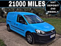 USED 2015 15 VOLKSWAGEN CADDY MAXI 1.6 C20 TDI STARTLINE 1d 101 BHP 1 GENUINE LOW MILES, NEW MOT AND SERVICE