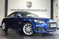"USED 2016 16 AUDI TT 2.0 TDI ULTRA SPORT 2DR 182 BHP full service history  *NO ADMIN FEES* FINISHED IN STUNNING BLUE WITH HALF BLACK LEATHER INTERIOR + FULL SERVICE HISTORY + VIRTUAL DRIVER ORIENTED COCKPIT + BLUETOOTH + DAB RADIO + XENON LIGHTS + SPORT SEATS + HEATED MIRRORS  + 18"" ALLOY WHEELS"