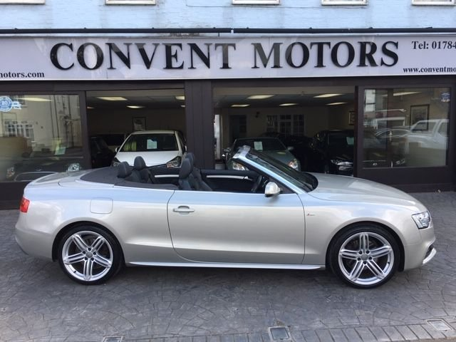 USED 2013 63 AUDI A5 1.8 TFSI S LINE SPECIAL EDITION 2d 168 BHP