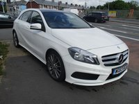 USED 2014 63 MERCEDES-BENZ A CLASS 1.8 A180 CDI BLUEEFFICIENCY AMG SPORT 5d AUTO 109 BHP New MOT & Full Service Done on purchase + 2 Years FREE Mot & Service Included After . 3 Months Russell Ham Quality Warranty . All Car's Are HPI Clear . Finance Arranged - Credit Card's Accepted . for more cars www.russellham.co.uk  Spare Key + Owners Book Pack