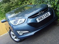 USED 2013 13 HYUNDAI I40 1.7 CRDI STYLE BLUE DRIVE 4d 134 BHP
