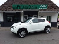 USED 2012 62 NISSAN JUKE 1.6 ACENTA PREMIUM 5d 117 BHP FINANCE AND PART EXCHANGE WELCOME. 3 MONTHS WARRANTY. ALL CARS HAVE A YEAR MOT AND A FRESH SERVICE.