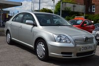 2006 TOYOTA AVENSIS 1.8 T2 COLOUR COLLECTION VVT-I 5d 128 BHP £1700.00