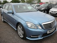 USED 2013 13 MERCEDES-BENZ E CLASS 2.1 E220 CDI BLUEEFFICIENCY S/S SPORT 5d AUTO 170 BHP Bargain clearance!!