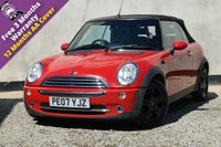USED 2007 07 MINI CONVERTIBLE 1.6 COOPER 2d 114 BHP